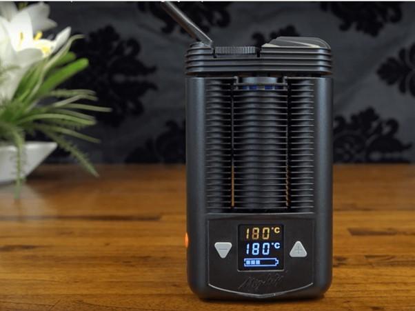 dry herb vaporizer mighty