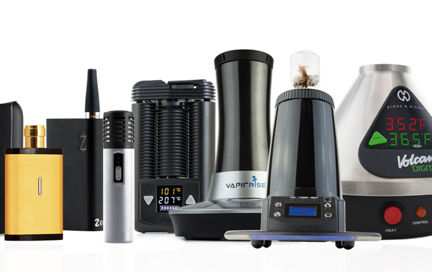 types of dry herb vaporizers